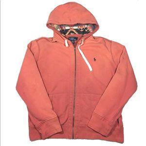 a4d3b9e4d ... closeout polo by ralph lauren shirts vtg polo ralph lauren orange aztec hoodie  jacket fa76e 3ba4a